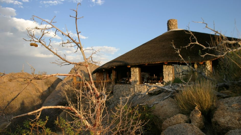 Namibia Erongo Wilderness Lodge Haupthaus