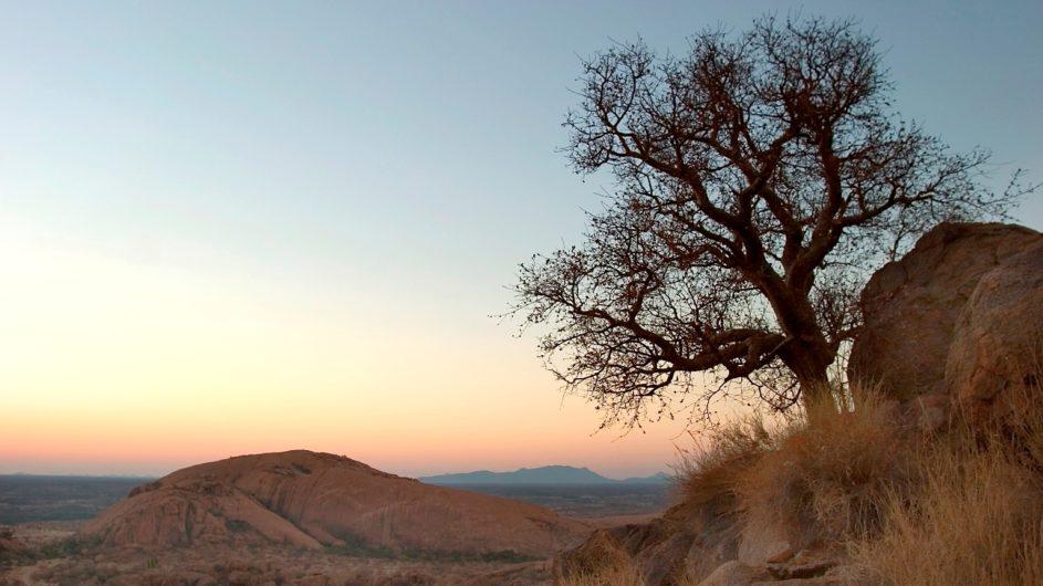 Namibia Erongo Wilderness Lodge Landschaft