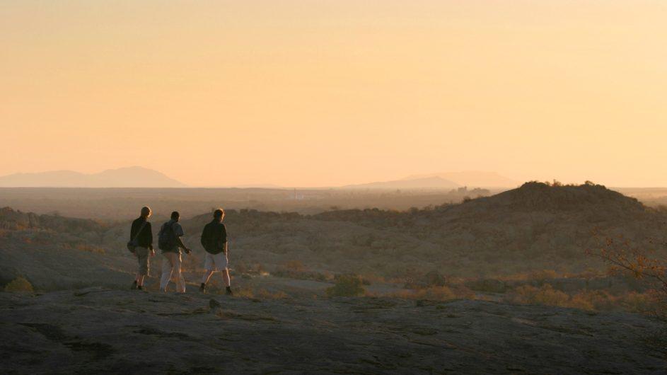 Namibia Erongo Wilderness Lodge Wanderung
