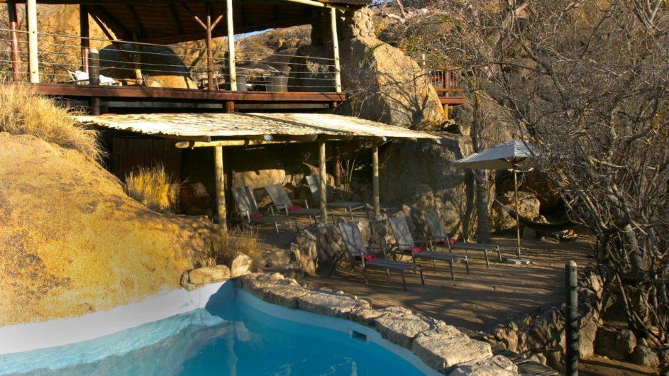 Namibia Erongo Wilderness Lodge Pool