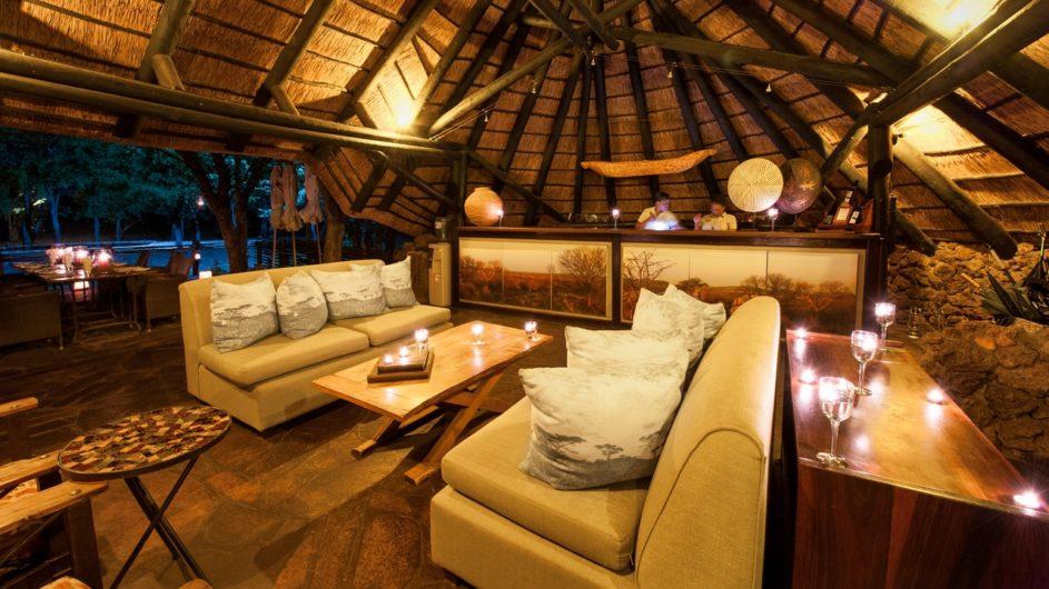 Namibia Etosha Nationalpark Ongava Tented Camp Lounge