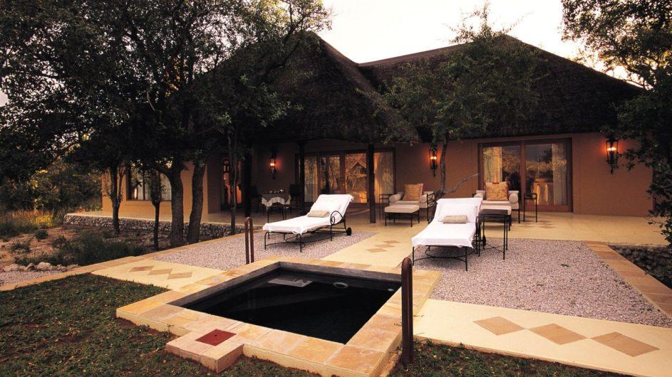 Namibia Etosha Nationalpark Villa Mushara Ansicht