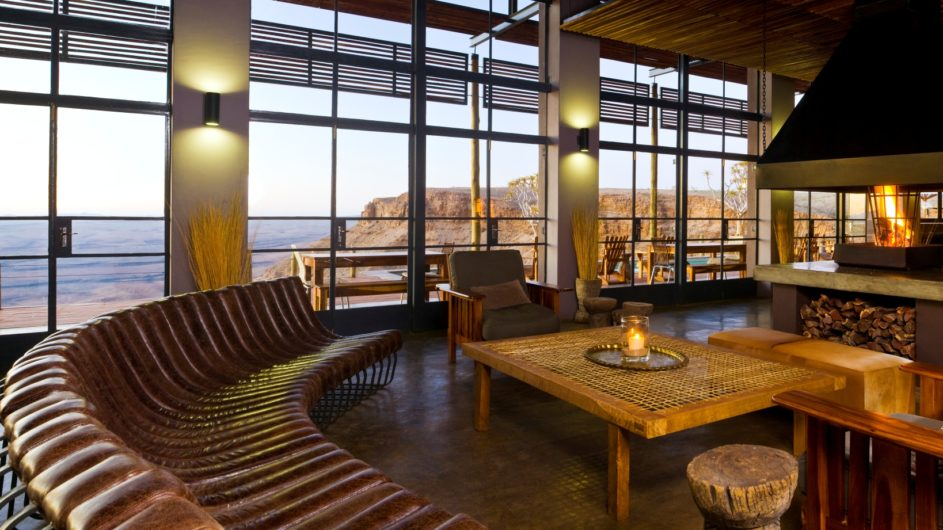 Namibia Fish River Canyon Fish River Lodge Lounge