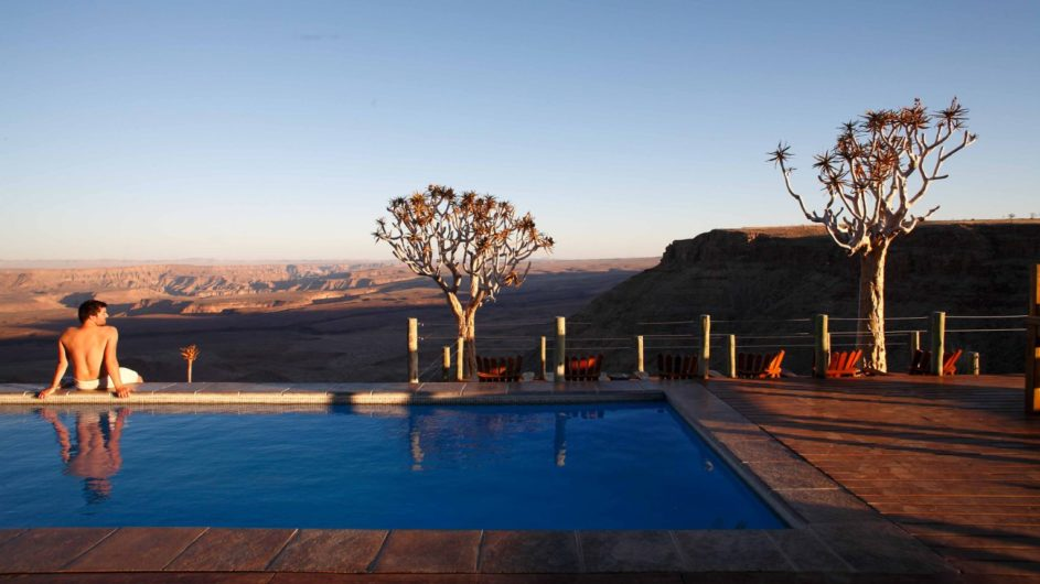 Namibia Fish River Canyon Fish River Lodge Pool