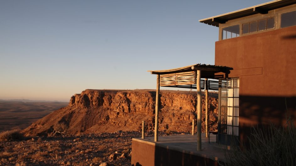 Namibia Fish River Canyon Fish River Lodge Zimmer außen