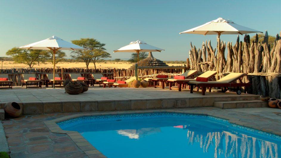 Namibia Frans Indongo Lodge Pool