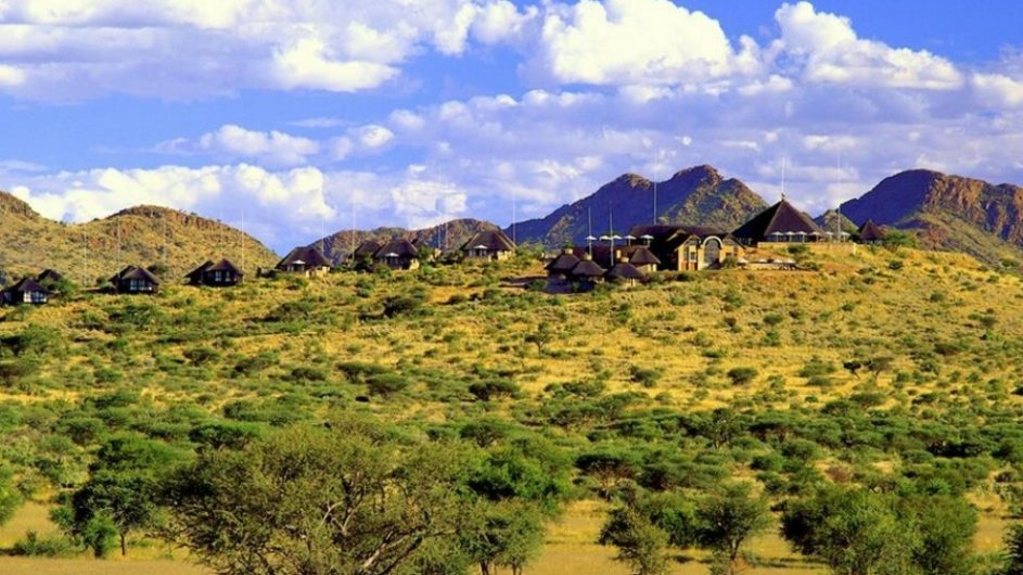 Namibia Goche Ganas Nature Reserve Ansicht