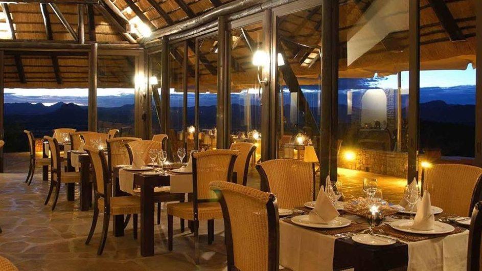 Namibia Goche Ganas Nature Reserve Dinner