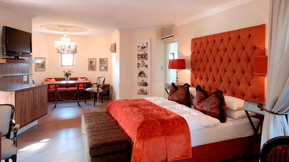 Namibia Windhoek Hotel Heinitzburg Comfort Zimmer