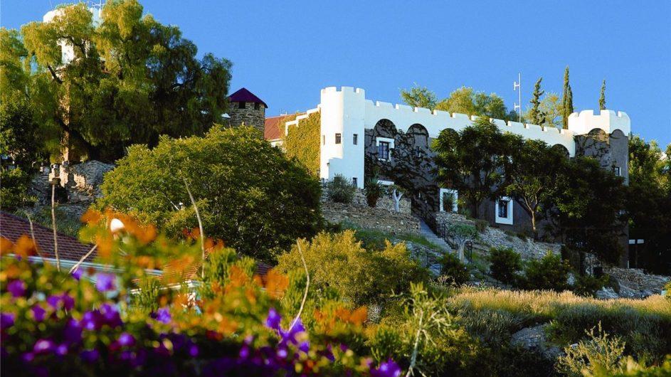 Namibia Windhoek Hotel Heinitzburg Ansicht