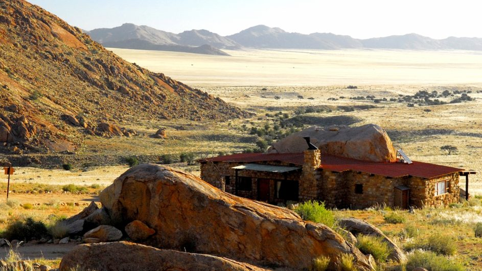 Namibia Aus Klein Aus Vista Eagles Nest Lage