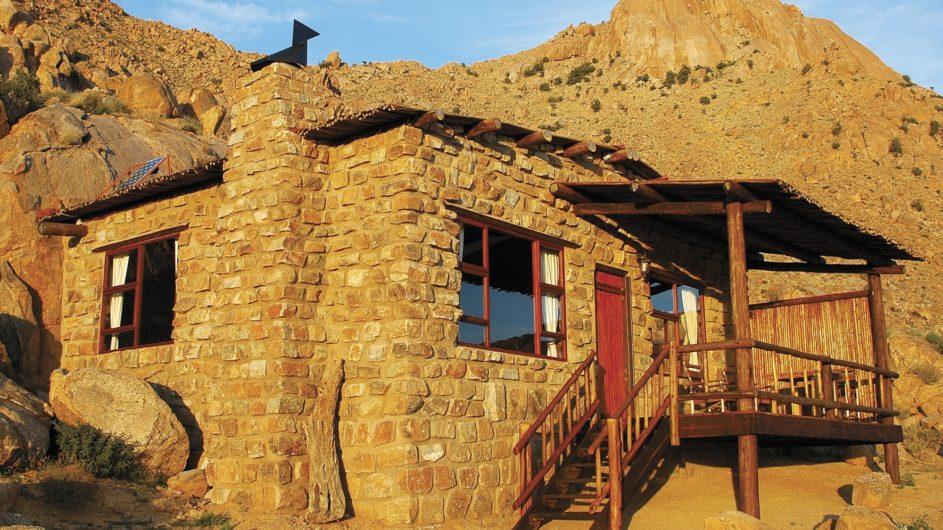 Namibia Aus Klein Aus Vista Eagles Nest Chalet außen