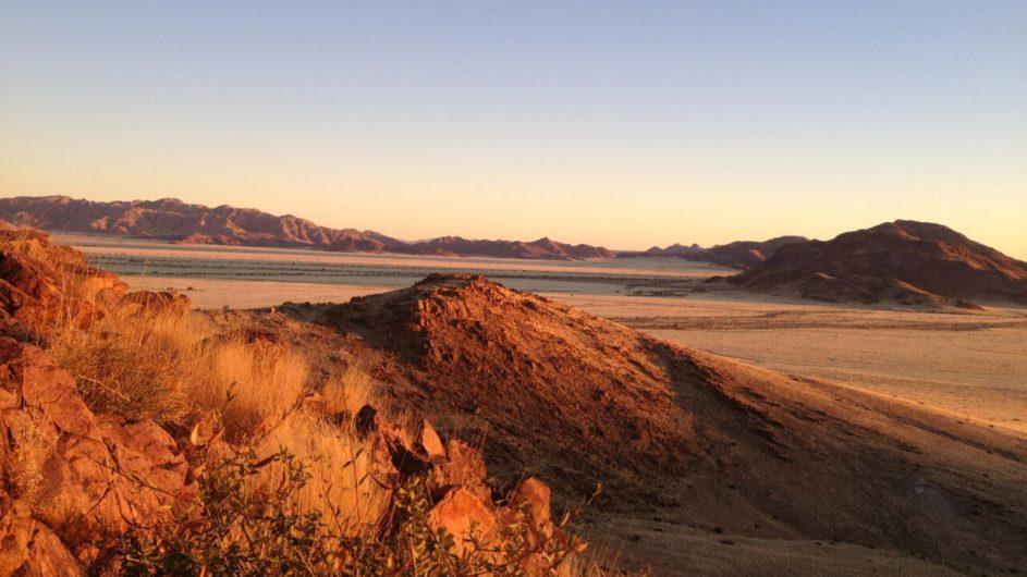 Namibia Sossusvlei A Little Sossus Lodge Landschaft