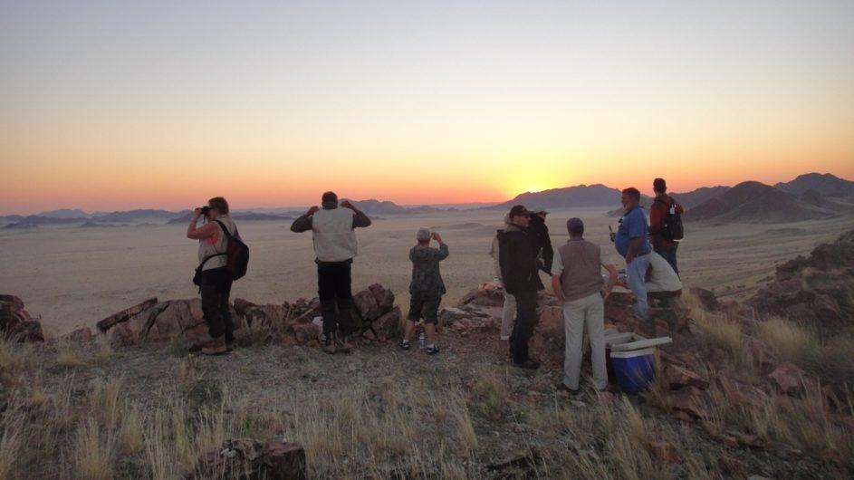Namibia Sossusvlei A Little Sossus Lodge Sundowner