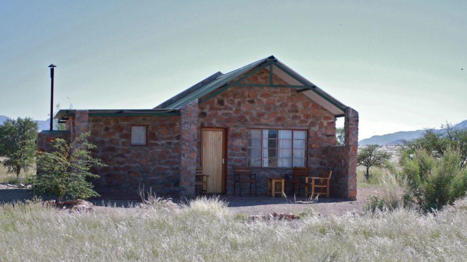 Namibia Sossusvlei A Little Sossus Lodge Zimmer außen