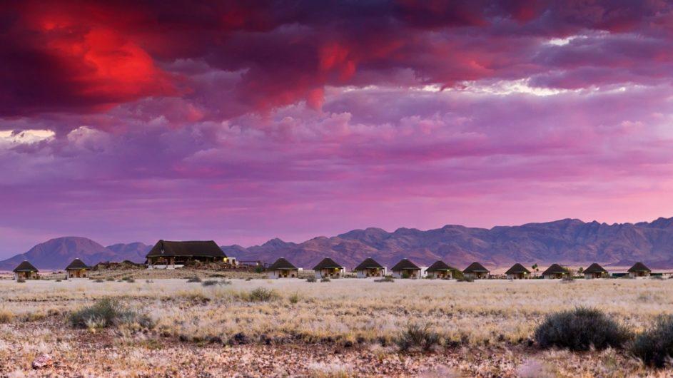 Namibia Namib Desert Homestead Lodge Ansicht