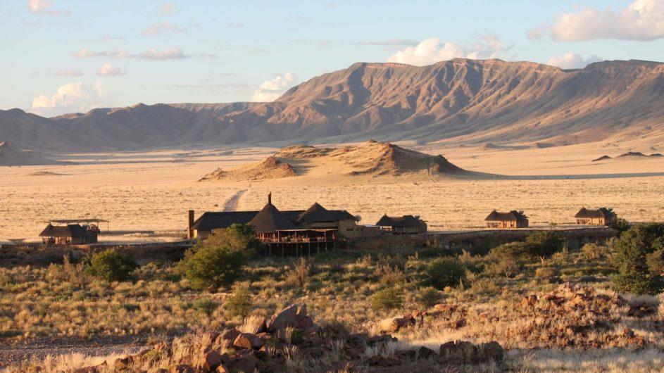 Namibia Sossusvlei Hoodia Desert Lodge Lodgeansicht