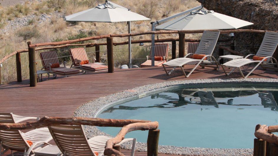 Namibia Sossusvlei Hoodia Desert Lodge Pool