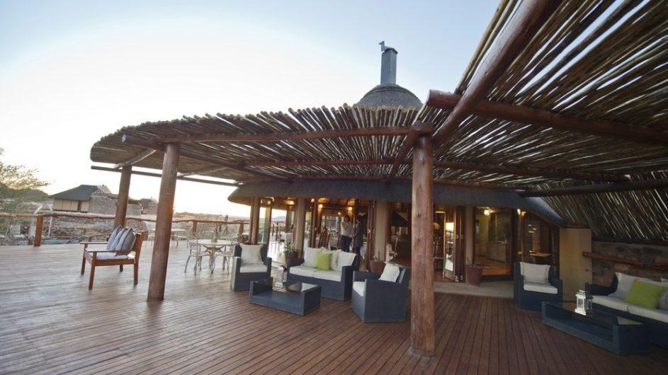 Namibia Sossusvlei Hoodia Desert Lodge Terrasse