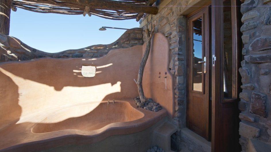 Namibia Sossusvlei Hoodia Desert Lodge Bad