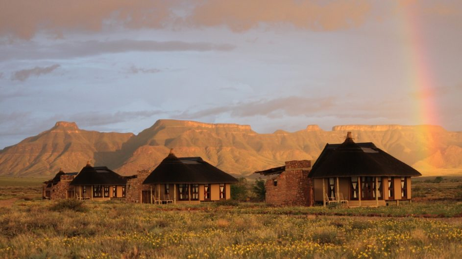 Namibia Sossusvlei Hoodia Desert Lodge Zimmer außen