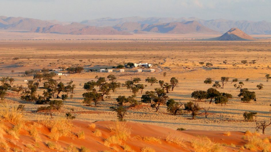 Namibia Namib Tsondap Valley Lodge Lage