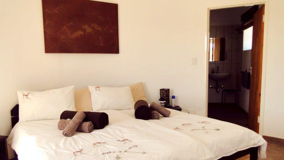 Namibia Namib Tsondap Valley Lodge Zimmer innen