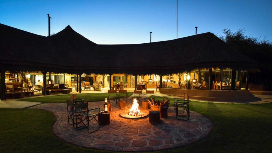 Namibia Okonjima Bush Camp Haupthaus