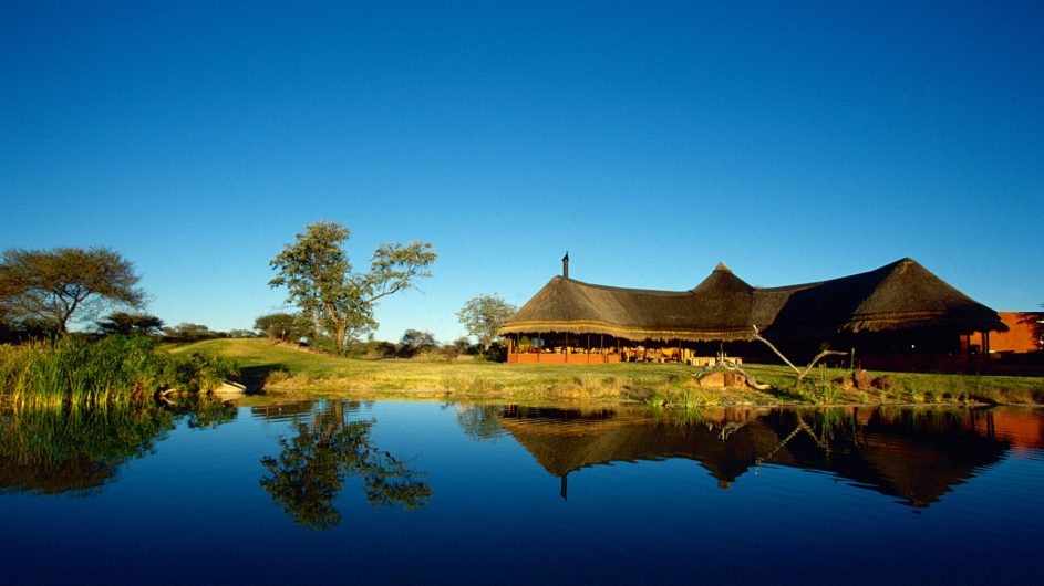 Namibia Okonjima Bush Suite Ansciht