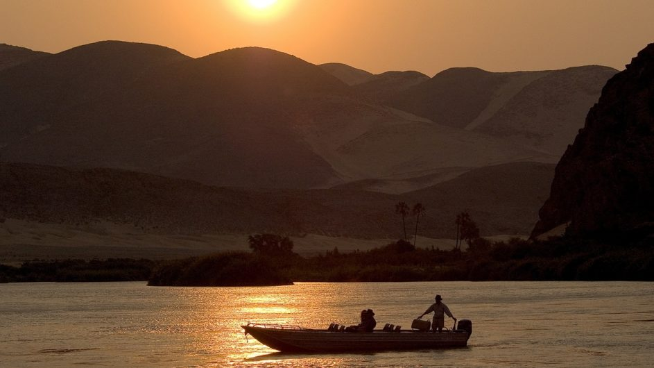 Namibia Serra Cafema Bootsaufflug Kunene River