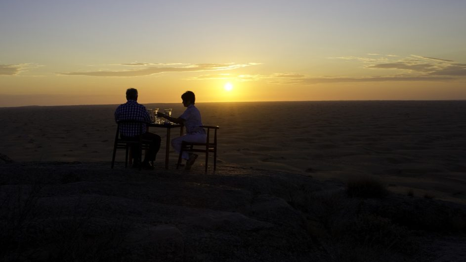 Namibia Serra Cafema Sundowner