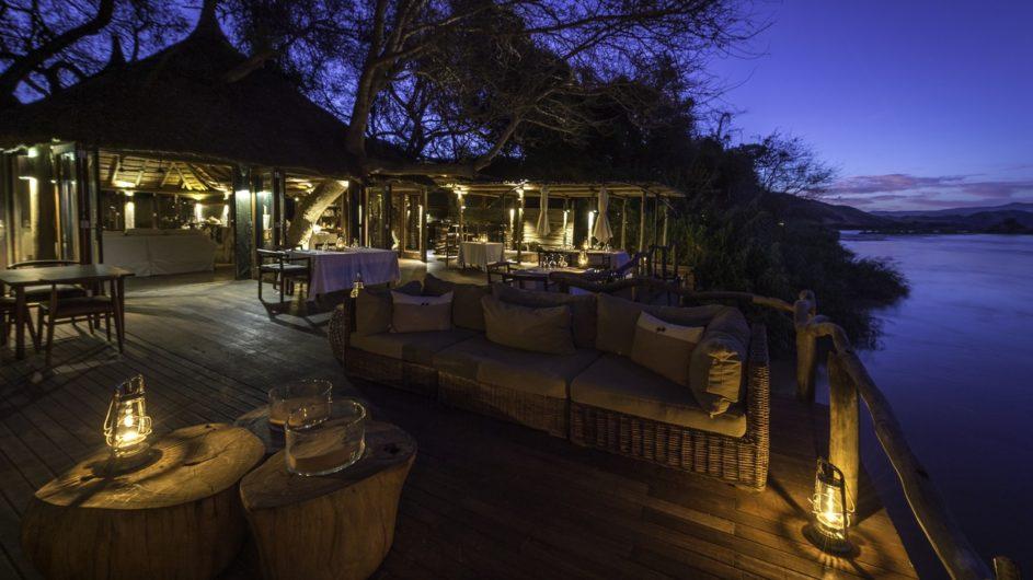Namibia Serra Cafema Terrasse
