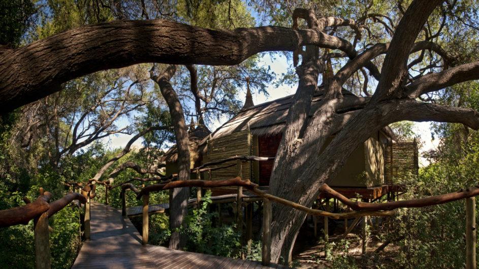Namibia Serra Cafema Weg zum Zimmer