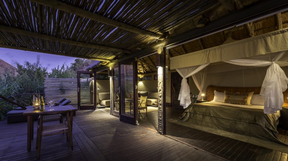 Namibia Serra Cafema Zimmer innen