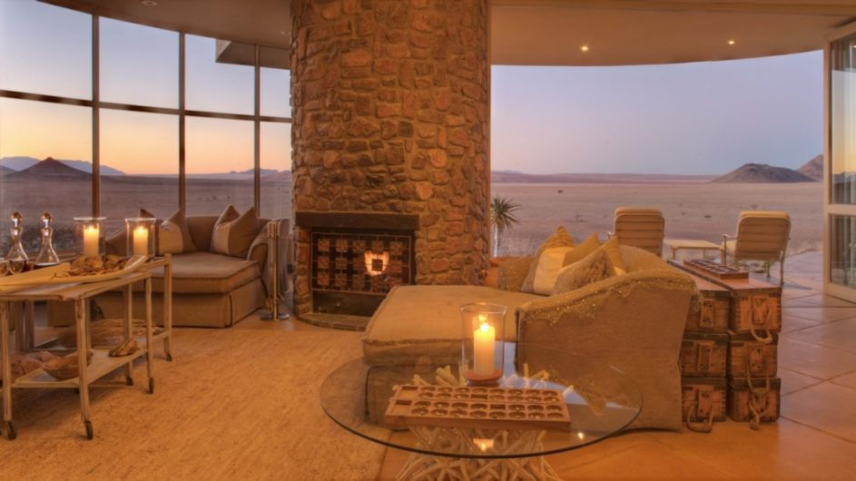 Namibia Sossusvlei Desert Lodge Lounge