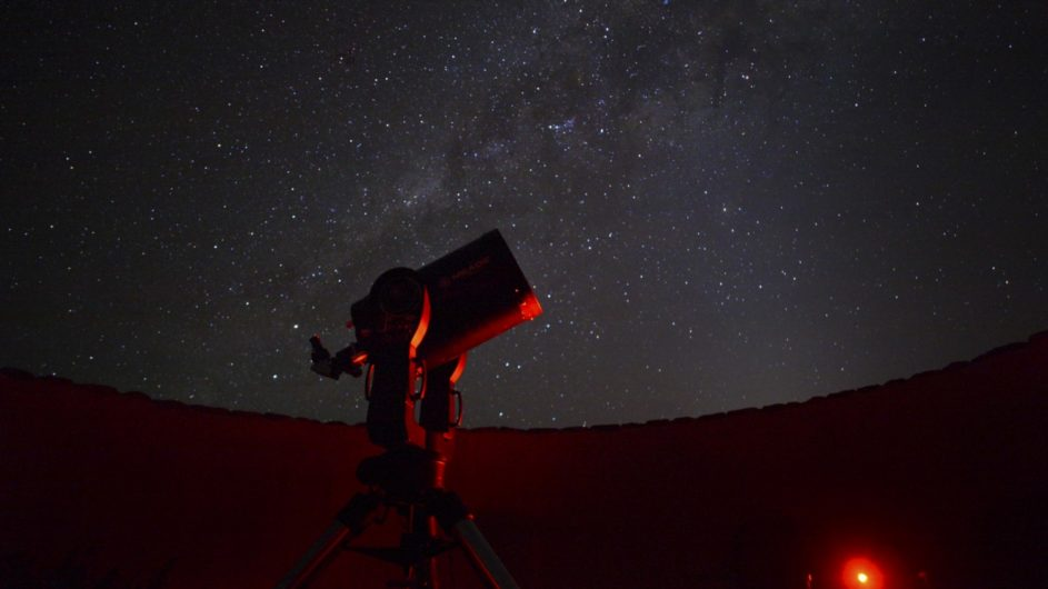 Namibia Sossusvlei Desert Lodge Sternenhimmel