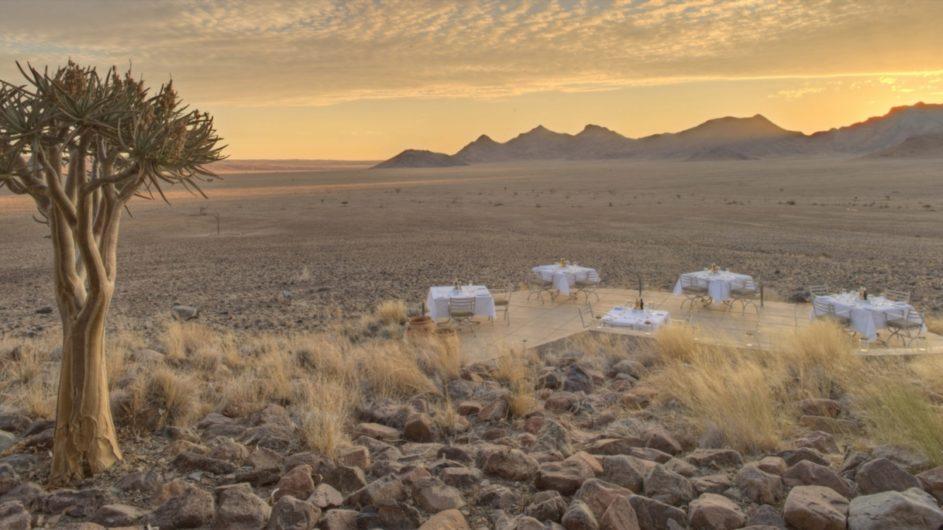 Namibia Sossusvlei Desert Lodge Aussicht