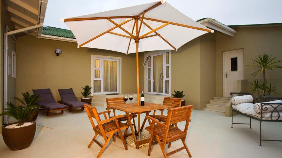 Namibia Swakopmund Guesthouse Terrasse