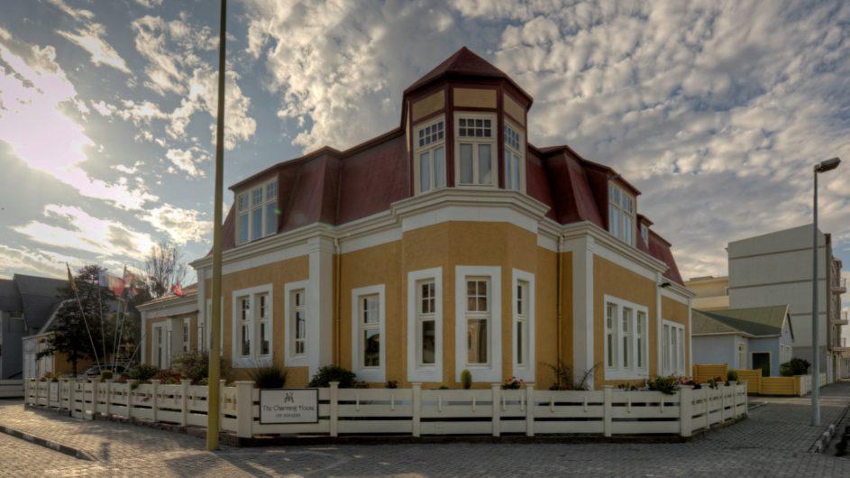 Namibia Swakopmund Villa Margharita Außenansicht