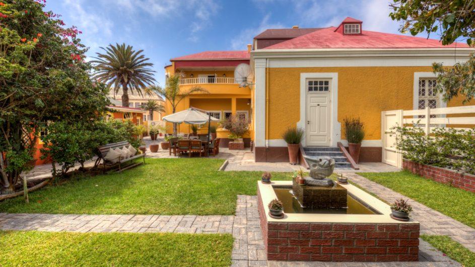 Namibia Swakopmund Villa Margharita Garten