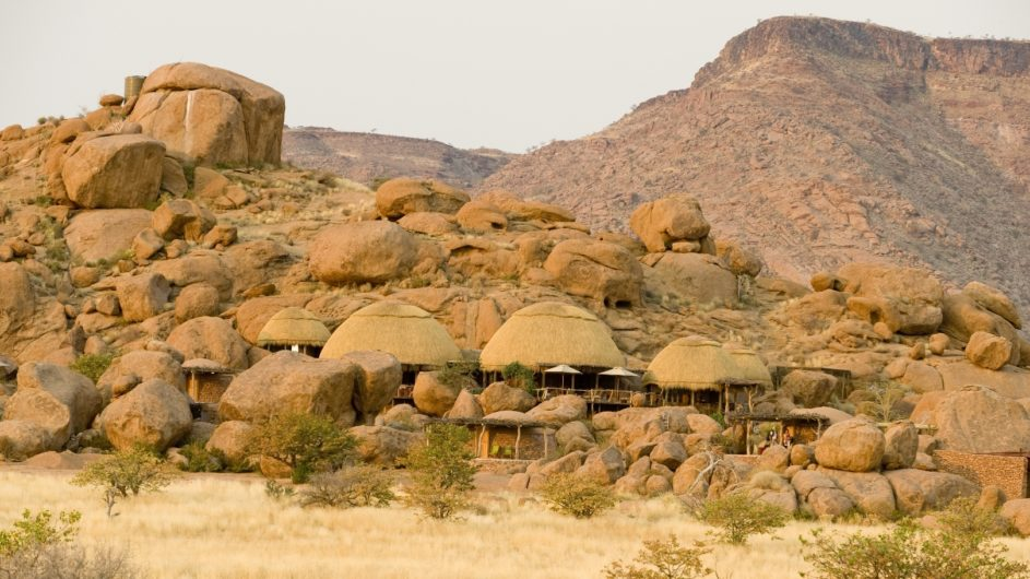 Namibia Twyfelfontein Camp Kipwe Campansicht