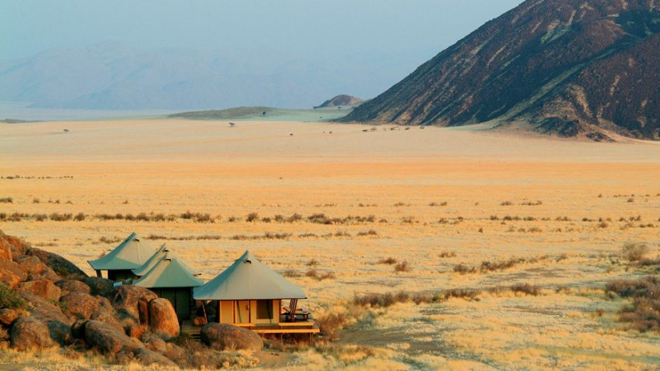 Namibia Wolwedans Boulders Camp Lage