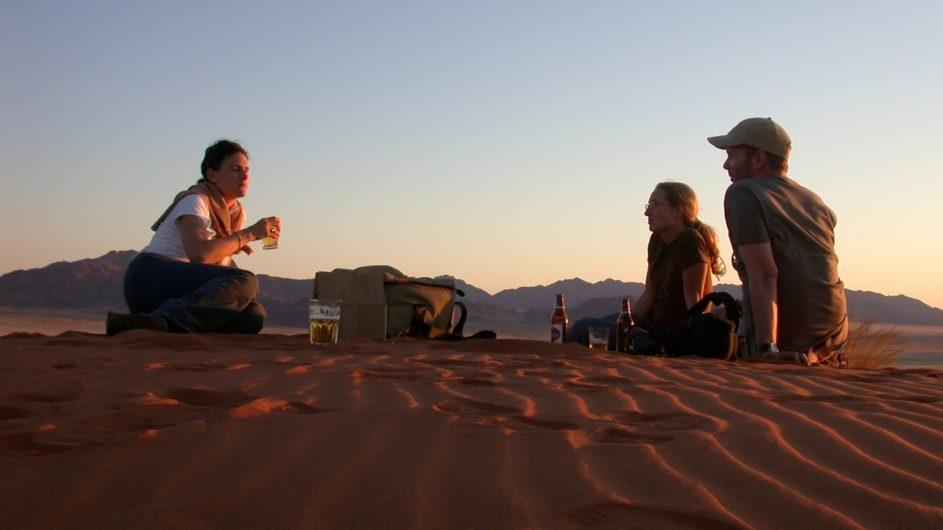 Namibia - Wolwedans - Dunes Lodge - Sundowner