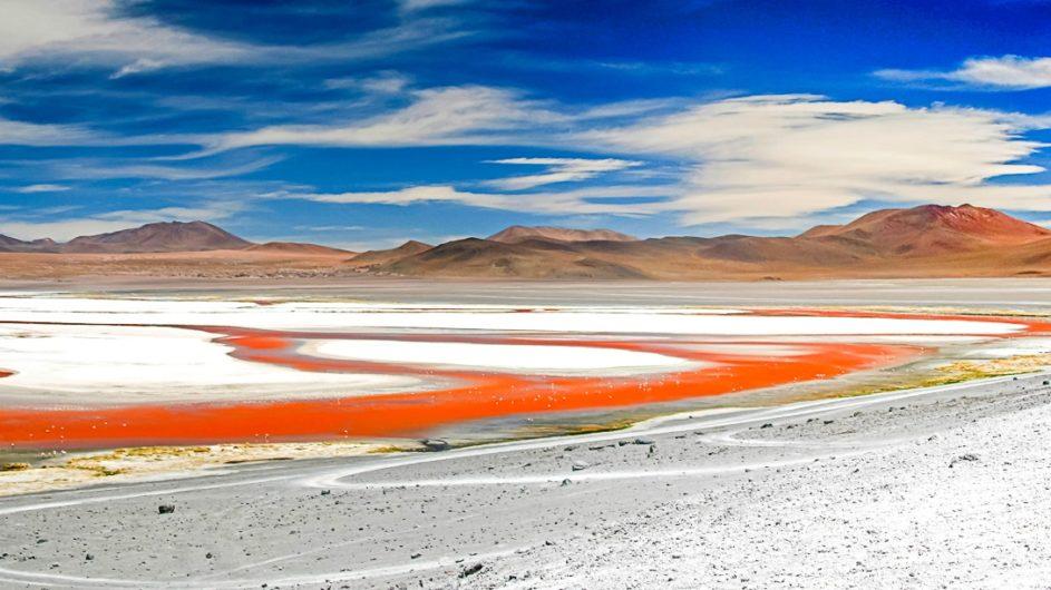 Boliven Peru Kleingruppenreise Uyuni Chamäleon Reisen Laguna Colorada