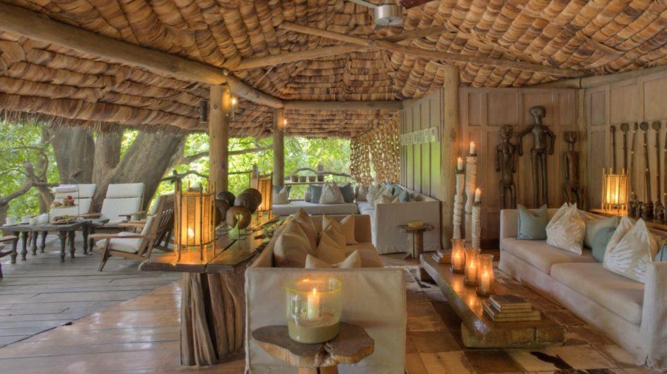 Tanzania andBeyond Lake Manyara Tree Lodge Lounge