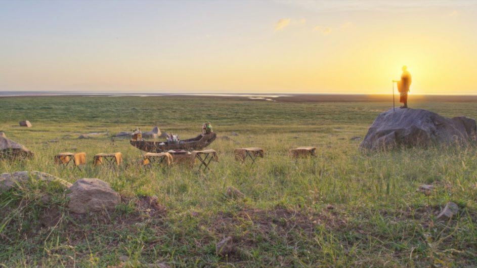 Tanzania andBeyond Lake Manyara Tree Lodge Sundowner