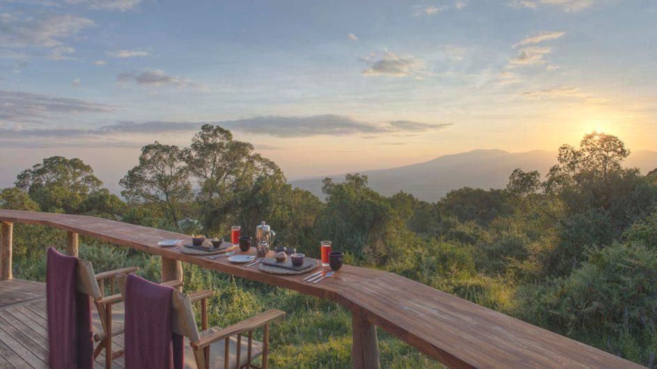 Tanzania Ngorongoro Krater Asilia The Higlands Aussicht