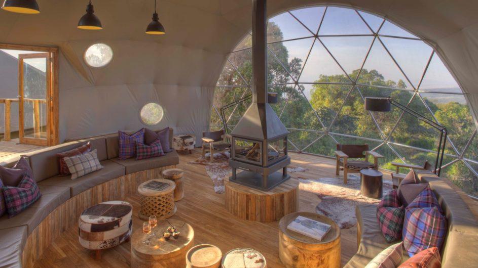 Tanzania Ngorongoro Krater Asilia The Higlands Lounge