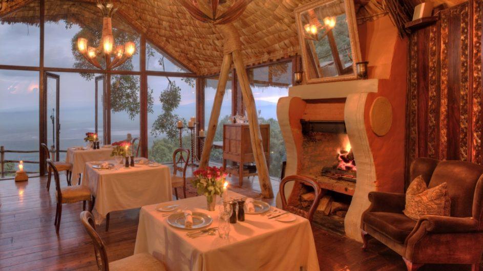 Tanzania andBeyond Ngorongoro Crater Lodge Dinner