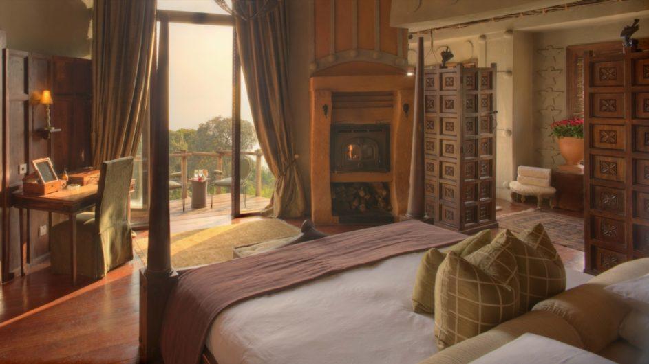 Tanzania andBeyond Ngorongoro Crater Lodge Zimmer Aussicht